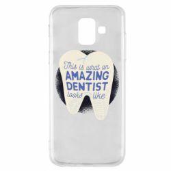 Чохол для Samsung A6 2018 Amazing Dentist