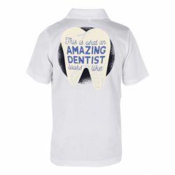 Дитяча футболка поло Amazing Dentist