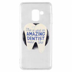 Чохол для Samsung A8 2018 Amazing Dentist