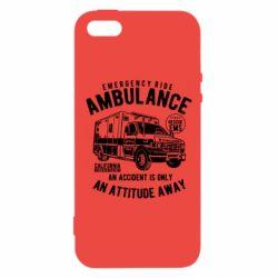 Купить Врачам, Чехол для iPhone5/5S/SE Ambulance, FatLine