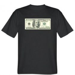 Мужская футболка Американский Доллар - FatLine