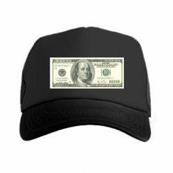 Кепка-тракер Американский Доллар - FatLine