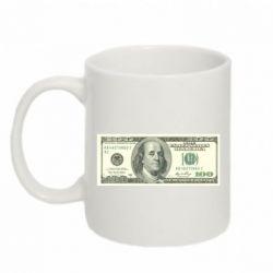 Кружка 320ml Американский Доллар - FatLine