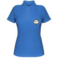 Женская футболка поло AMG - FatLine