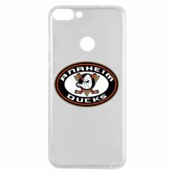 Чехол для Huawei P Smart Anaheim Ducks Logo - FatLine