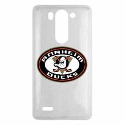 Чехол для LG G3 mini/G3s Anaheim Ducks Logo - FatLine