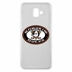 Чехол для Samsung J6 Plus 2018 Anaheim Ducks Logo - FatLine