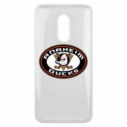 Чехол для Meizu 16 plus Anaheim Ducks Logo - FatLine
