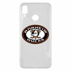 Чехол для Huawei P Smart Plus Anaheim Ducks Logo - FatLine