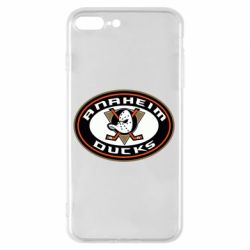Чехол для iPhone 7 Plus Anaheim Ducks Logo - FatLine