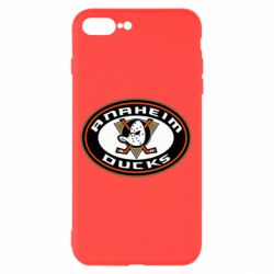 Чехол для iPhone 8 Plus Anaheim Ducks Logo - FatLine