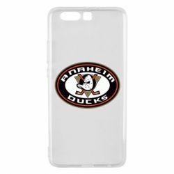 Чехол для Huawei P10 Plus Anaheim Ducks Logo - FatLine
