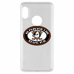 Чехол для Xiaomi Redmi Note 5 Anaheim Ducks Logo - FatLine