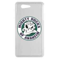 Чехол для Sony Xperia Z3 mini Anaheim Mighty Ducks Logo - FatLine