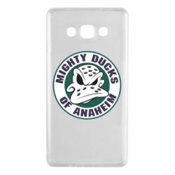 Чехол для Samsung A7 2015 Anaheim Mighty Ducks Logo - FatLine