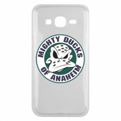 Чехол для Samsung J5 2015 Anaheim Mighty Ducks Logo
