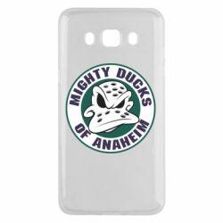 Чехол для Samsung J5 2016 Anaheim Mighty Ducks Logo