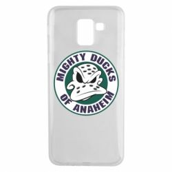 Чехол для Samsung J6 Anaheim Mighty Ducks Logo