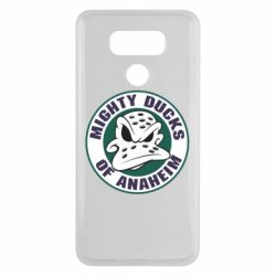 Чехол для LG G6 Anaheim Mighty Ducks Logo - FatLine