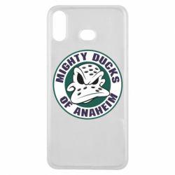 Чехол для Samsung A6s Anaheim Mighty Ducks Logo