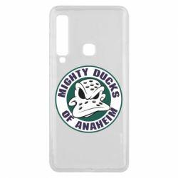 Чехол для Samsung A9 2018 Anaheim Mighty Ducks Logo