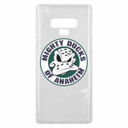 Чехол для Samsung Note 9 Anaheim Mighty Ducks Logo