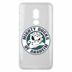 Чехол для Meizu V8 Anaheim Mighty Ducks Logo - FatLine