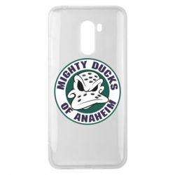 Чехол для Xiaomi Pocophone F1 Anaheim Mighty Ducks Logo
