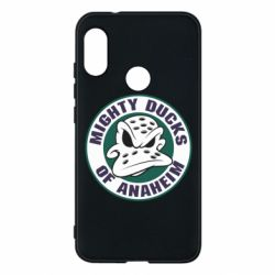 Чехол для Mi A2 Lite Anaheim Mighty Ducks Logo - FatLine
