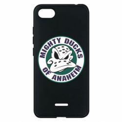 Чехол для Xiaomi Redmi 6A Anaheim Mighty Ducks Logo