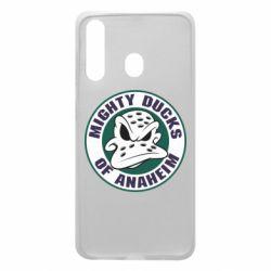 Чехол для Samsung A60 Anaheim Mighty Ducks Logo