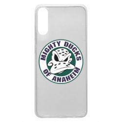 Чехол для Samsung A70 Anaheim Mighty Ducks Logo