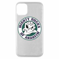 Чехол для iPhone 11 Pro Anaheim Mighty Ducks Logo