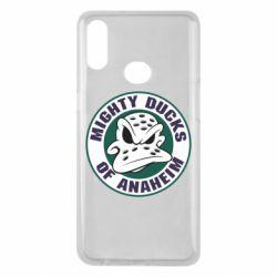 Чехол для Samsung A10s Anaheim Mighty Ducks Logo