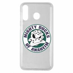 Чехол для Samsung M30 Anaheim Mighty Ducks Logo