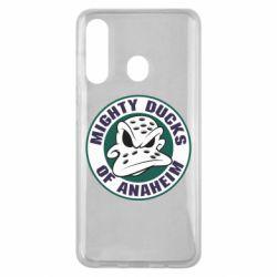 Чехол для Samsung M40 Anaheim Mighty Ducks Logo