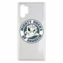 Чехол для Samsung Note 10 Plus Anaheim Mighty Ducks Logo