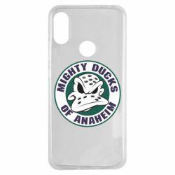Чехол для Xiaomi Redmi Note 7 Anaheim Mighty Ducks Logo
