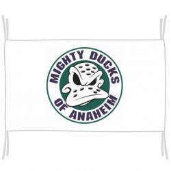 Флаг Anaheim Mighty Ducks Logo