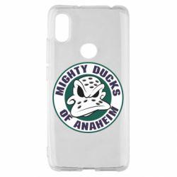 Чехол для Xiaomi Redmi S2 Anaheim Mighty Ducks Logo