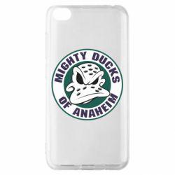 Чехол для Xiaomi Redmi Go Anaheim Mighty Ducks Logo