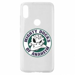 Чехол для Xiaomi Mi Play Anaheim Mighty Ducks Logo