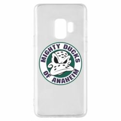 Чехол для Samsung S9 Anaheim Mighty Ducks Logo - FatLine