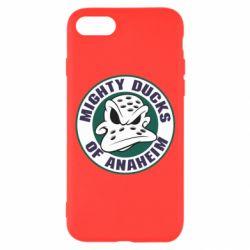Чехол для iPhone 7 Anaheim Mighty Ducks Logo