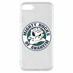 Чехол для iPhone 8 Anaheim Mighty Ducks Logo