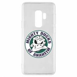 Чехол для Samsung S9+ Anaheim Mighty Ducks Logo