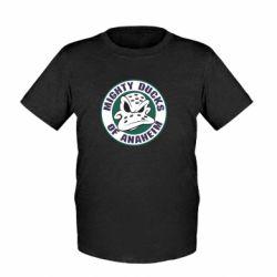 Детская футболка Anaheim Mighty Ducks Logo