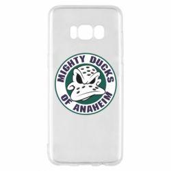 Чехол для Samsung S8 Anaheim Mighty Ducks Logo