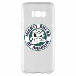 Чехол для Samsung S8+ Anaheim Mighty Ducks Logo