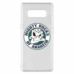Чехол для Samsung Note 8 Anaheim Mighty Ducks Logo - FatLine